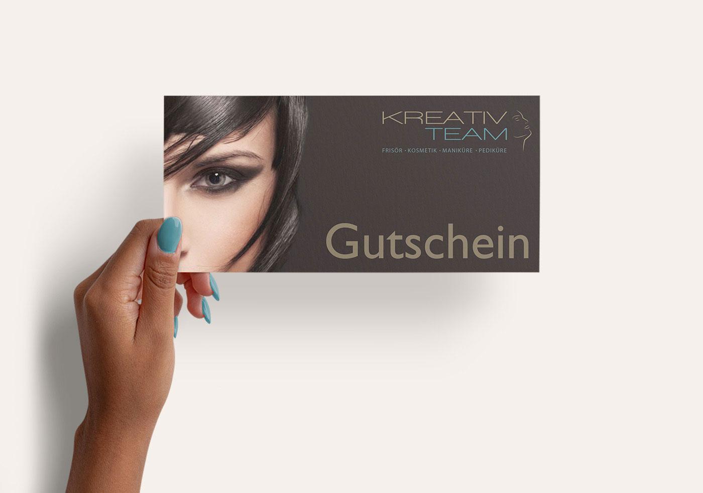 Kreativ Team Gutschein