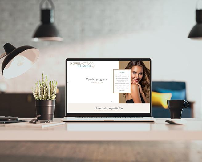 Unsere neue Webseite   friseur-kreativ.at